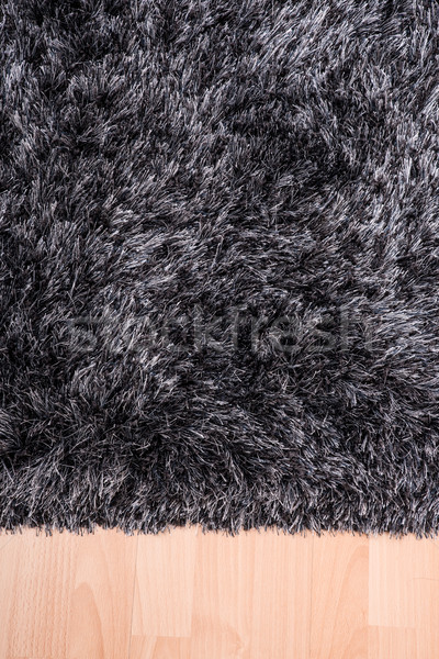Fuzzy carpet lying on the floor Stock photo © Spectral