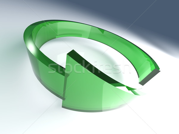 Refresh, reload, recycle Stock photo © Spectral