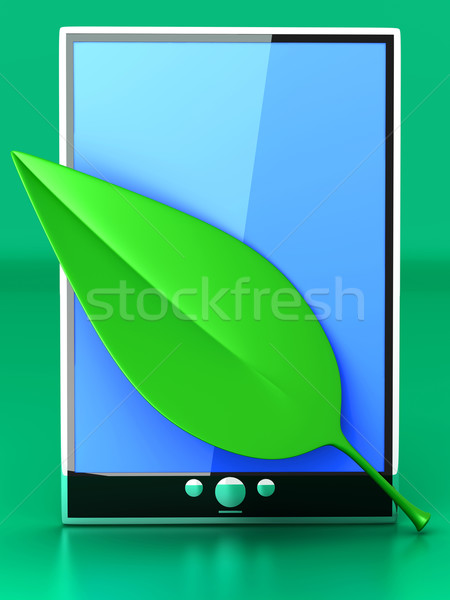 Eco Tablet PC	 Stock photo © Spectral