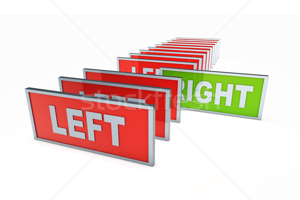 Left and right Stock photo © Spectral