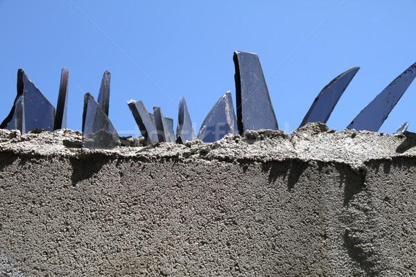 стены стекла частей защиту строительство фон Сток-фото © Spectral