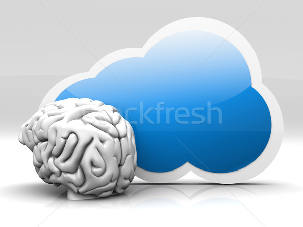 Cloud intelligence Stock photo © Spectral