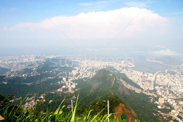 мнение Рио-де-Жанейро панорамный Бразилия Южной Америке пляж Сток-фото © Spectral