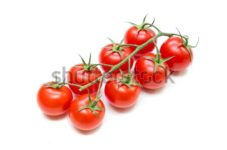 Fresh Tomatoes on the stalk Stock photo © Spectral
