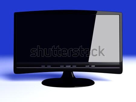 Hdtv 3D レンダリング 実例 コンピュータ 技術 ストックフォト © Spectral