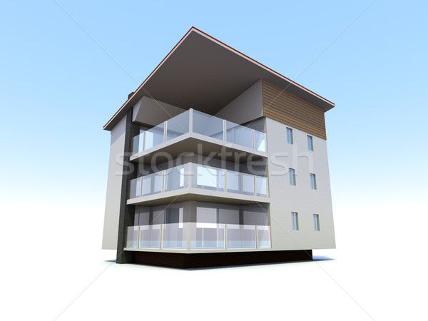 Modern building	 Stock photo © Spectral