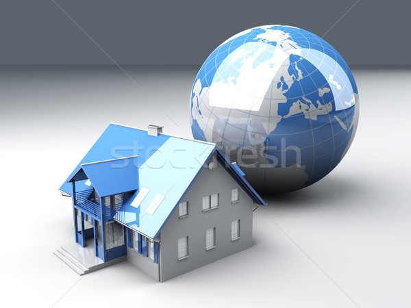 Global Real Estate Stock photo © Spectral