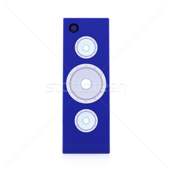 Blue HiFi Speaker  Stock photo © Spectral