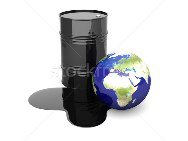 Oil disaster - Europe Stock photo © Spectral