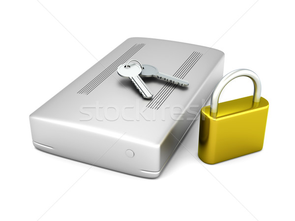 Secure external Hard Drive Stock photo © Spectral