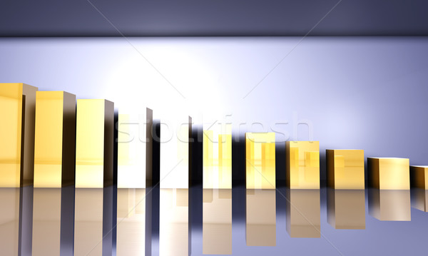 Growing Statistics Stock photo © Spectral