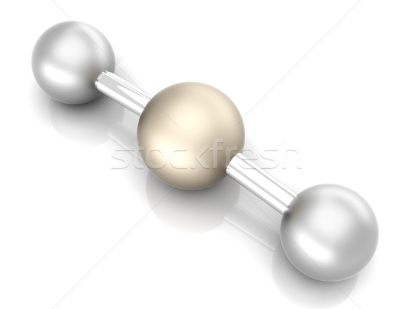 CO2 Molecule Stock photo © Spectral