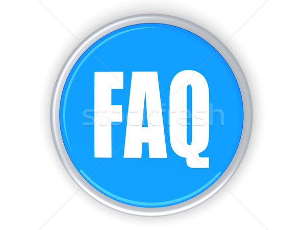 FAQ Button Stock photo © Spectral