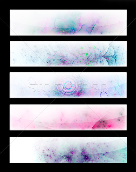 5 Banner Templates Stock photo © Spectral