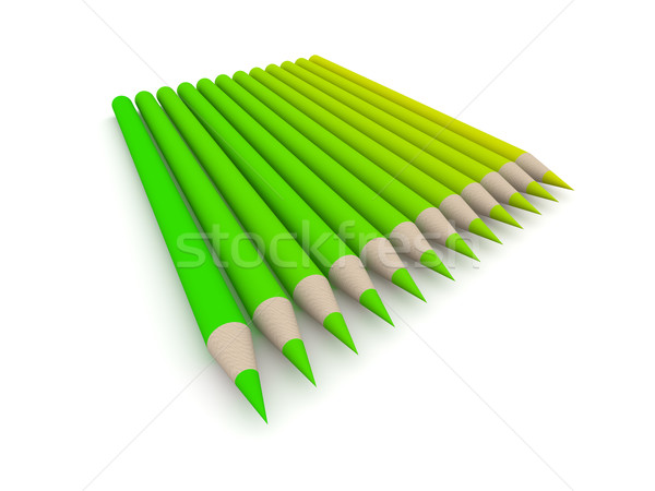 Crayon Color Spectrum - green
