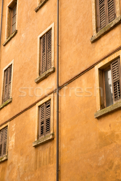 Historic architecture in Verona Stock photo © Spectral