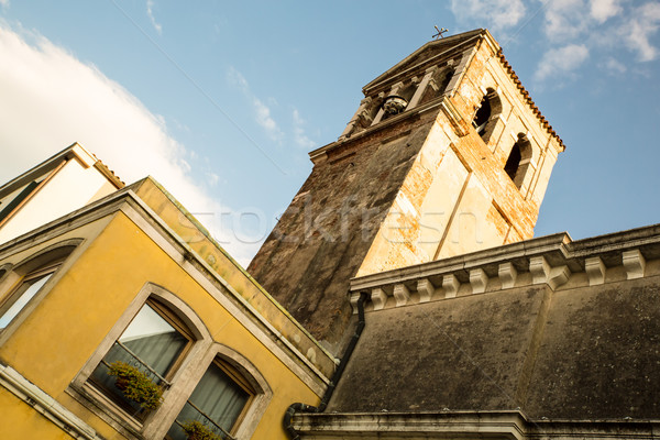 Arquitetura histórica Veneza Itália europa edifício parede Foto stock © Spectral