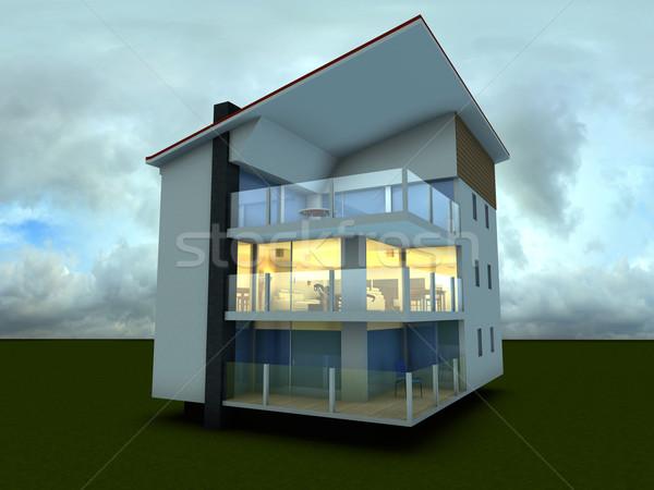 Stock photo: Modern building