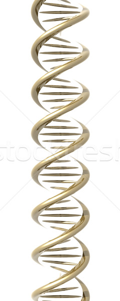Golden DNA Helix