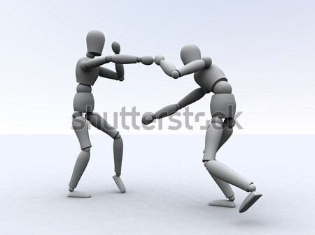 Boxing  Stock photo © Spectral