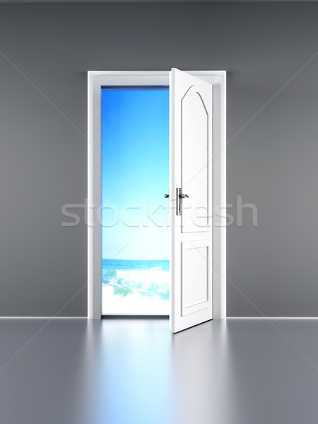 Door to the Beach Stock photo © Spectral