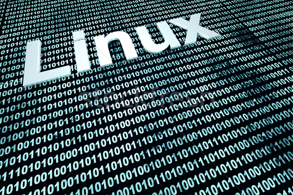 Linux code Stock photo © Spectral