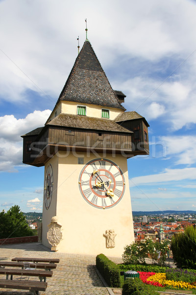 Clock tower of Grace Stock photo © Spectral