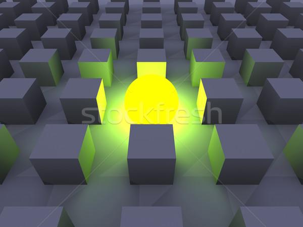 Illuminated One Stock photo © Spectral