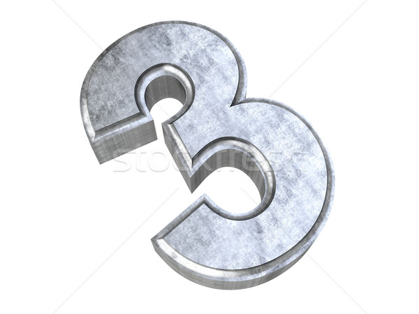 Number 3 Stock photo © Spectral