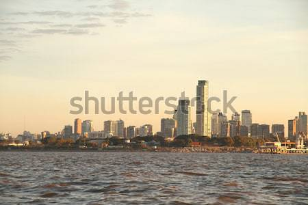 Pollution over Buenos Aires Stock photo © Spectral