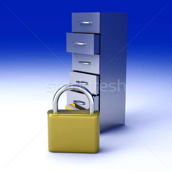 Secure Archive Stock photo © Spectral
