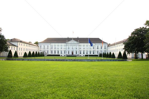 Zamek Berlin federalny prezydent Niemcy Zdjęcia stock © Spectral