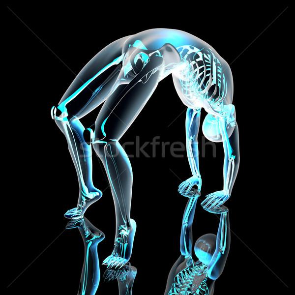 Yoga - Urdhva Dhanurasana Stock photo © Spectral