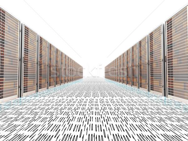 Data Rush Stock photo © Spectral