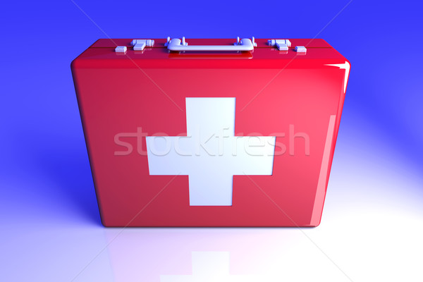First aid case	 Stock photo © Spectral