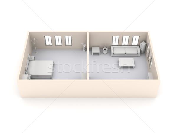 Apartment Interior Stock photo © Spectral