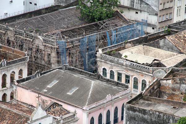 Rundown Buildings in Salvador Stock photo © Spectral