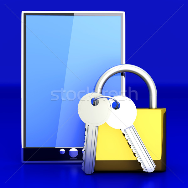 Secure Tablet PC Stock photo © Spectral