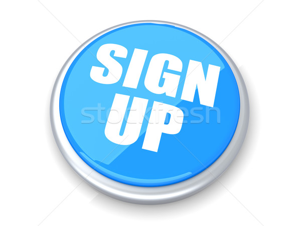 Sign up Button Stock photo © Spectral