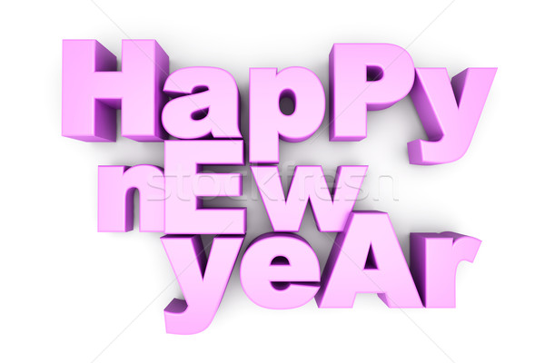 Happy new year Stock photo © Spectral