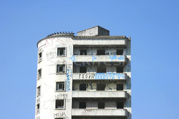 Costruzione Sao Paulo facciata poveri quartiere centro Foto d'archivio © Spectral