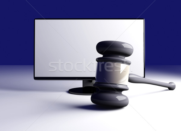 Online Law Stock photo © Spectral
