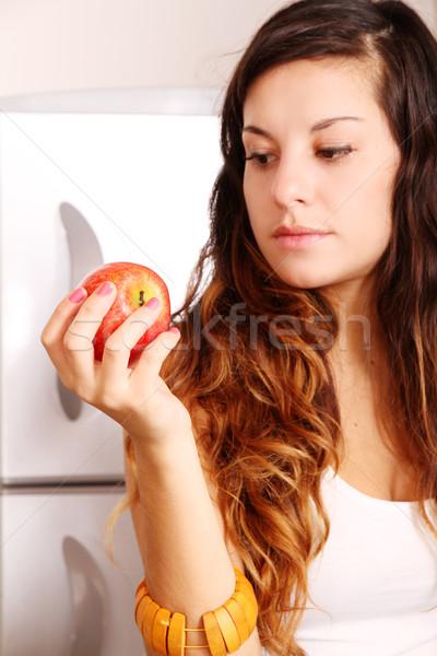 яблоко женщину девушки Сток-фото © Spectral