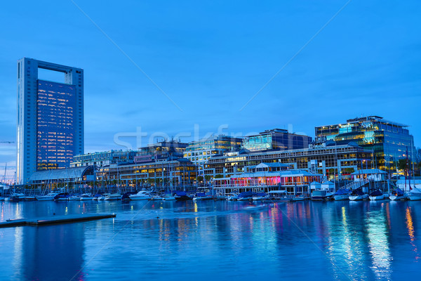 Puerto Madero in Buenos Aires Stock photo © Spectral