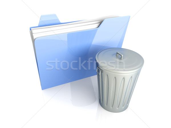 Trashed document	 Stock photo © Spectral