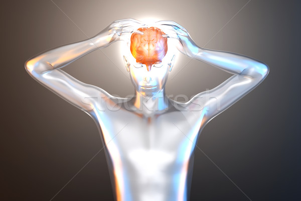 Stock photo: Mental Power