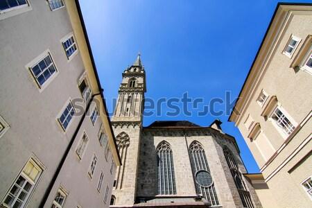 историческая архитектура Австрия Европа дома здании городского Сток-фото © Spectral
