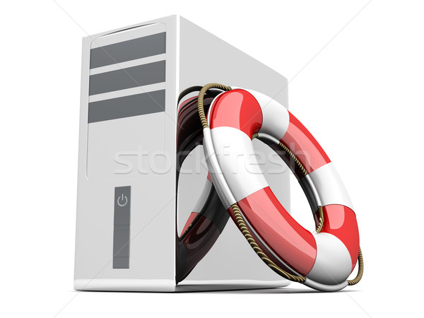 Desktop PC Life Belt	 Stock photo © Spectral