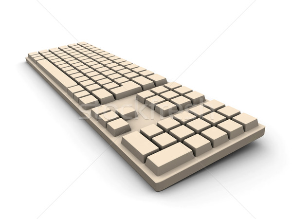 Keyboard - beige