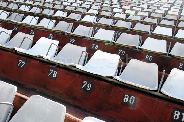 Empty tribune Stock photo © Spectral